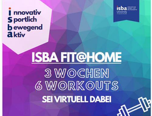 24.04.2020 – #ISBAFITATHOME – Workout für alle!
