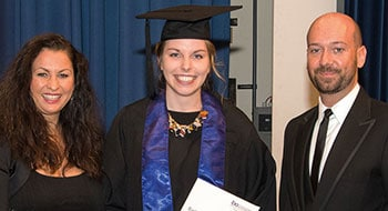 Absolventin Kristina Unsleber